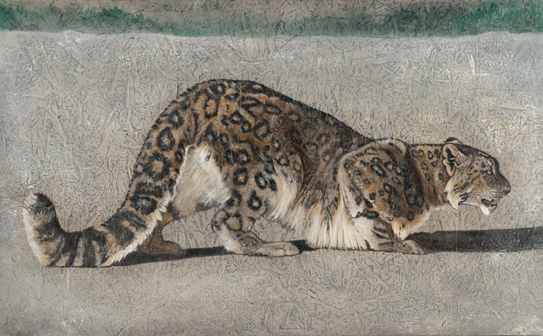 """Return of the Snow Leopard"" - Kimberly Webber"