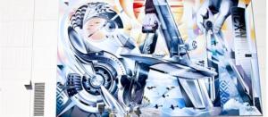 Mural - Artist Jari WERC Alvarez - San Diego Arts Program