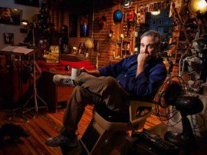 Matt McKee in his studio