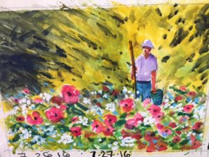 Bob Ragland - 2016 Summer Watercolor Series