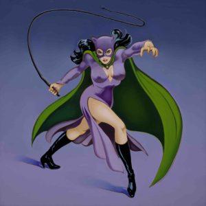 "Mel Ramos ""Catwoman"""