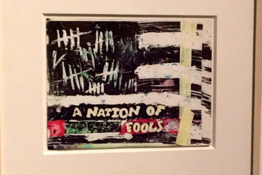 Untitled (A Nation of Fools) 1979-1980 by Jean-Michel Basquiat.