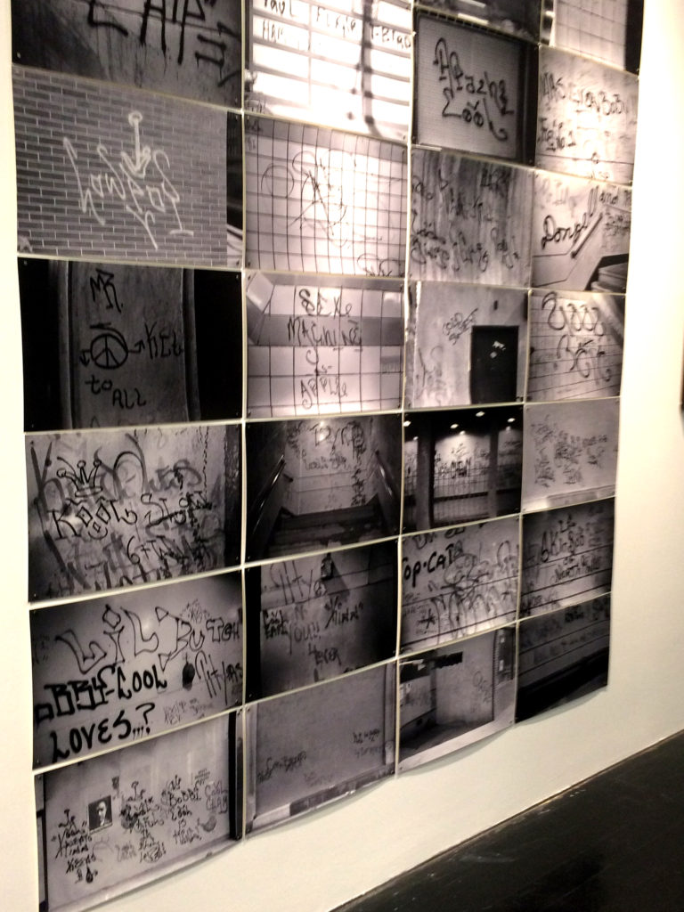 A collection of documented graffiti photographs by Roger Gastman featured in Wall Writers.