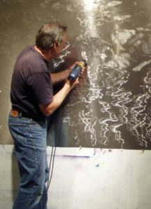 David Kessler in his studio