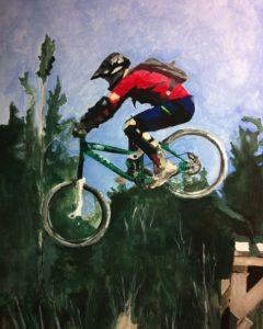Whistler Mountain Biker - Carrie Diaz
