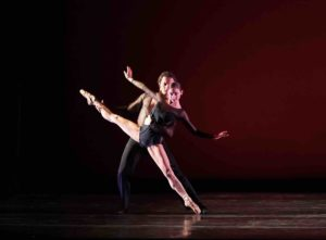 Sharon Wehner and Dmitry Trubchanov in Feast of the Gods photo by Sue Daniel