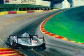 Revving Up the Artistic Engine: Alex Wakefield Captures Our Attention with Motorsport Art