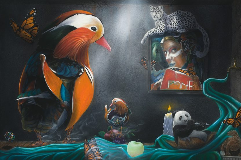 Shay Davis – Vision Quest – Endangered Species of the World – Solo Exhibition – Abend Gallery