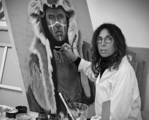 Italian Artist Paola Rava – The Eyes Have It